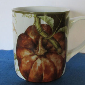 Botanical Pumpkin coffee mug / Williams-Sonoma